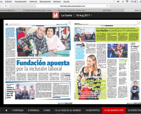 Noticias - Página 16 de 64 - Fundación Cerro Navia Joven