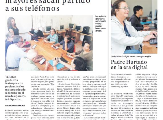 Trabajo de la Fundación es destacado en diario La Cuarta y Radio ...